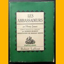 Collection Pavillons LES AMBASSADEURS Henry James 1950