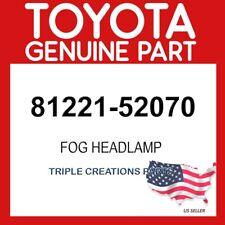 TOYOTA GENUINE 8122152070 LAMP UNIT, FOG LAMP, LH 81221-52070