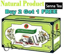 Buy 2 Get 1 FREE!! SENNA TEA - Weight Loss, Colon Cleansing, Detox, 20 tea bags