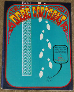 "VINTAGE PETE MILLAR`S ""DRAG CARTOONS"" COMIC--NUMBER 43--SEPTEMBER 1967--VG COND!"
