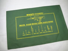 China Military Surplus QBZ 95 / Type 97  Rifles  place mat for maintenance works