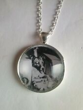 collar perro laika luna moon camafeo collar dog puppy picture pendant necklace