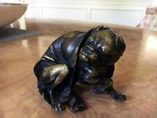 Antique Bronze Bulldog