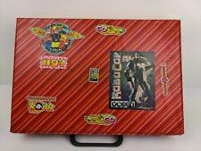 Vintage Retro Cassette Tape Case Briefcase Storage 90s stickers RoboCop ocean.