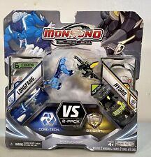 MONSUNO 2-PACK SET #14 Longfang vs #21 Hydro Combat Set W/ 6 Topps Cards ~ NEW!