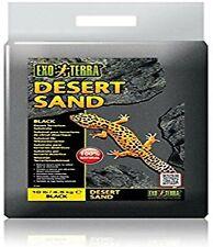 Exo Terra Natural Desert Sand 10 lb Black Reptile Habitat Substrate