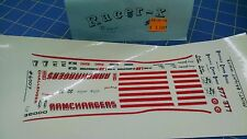 Racer-X #6007 Ramchargers Decal from Mid-America Raceway