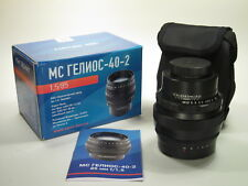 M42 mount MC Helios-40-2 f/1,5 85 mm portrait lens. NEW CONDITION!