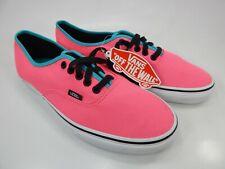 Vans Authentic Men's Size 10 (Women's Size 11.5) EU 43 Skate Shoes Pink Aqua