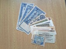 More details for germany large collection of banknotes pre ww2