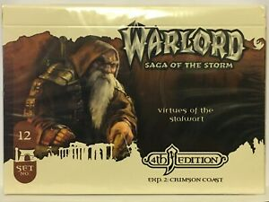 Warlord: Saga of the Storm CCG Sealed 4e APS 12 + Promos  !dt