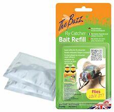3 x 4g Sachets Fly Attractant Bait Refills For Fly Traps Catcher Bottles