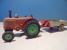 DINKY TOYS  FIELD MARSHALL TRACTOR,301 & TRAILER,  c1960