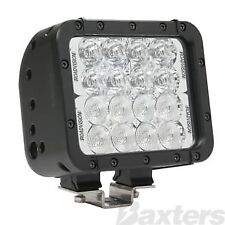LED Work Lamp Dual Flood/Spot Square 9-32V 16 LED IP68 2880lm 48W Black Housing