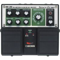 New! BOSS RE-20 Space Echo Reverb Delay Guitar Pedal Effect from Japan Import!