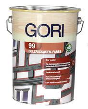 GORI 99 Holzfassaden-farbe 5 L 14 98 Euro/l 2052 Lichtgrau Holzfarbe