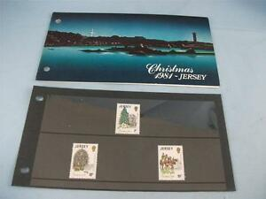 'Jersey Christmas 1981', Jersey Stamp presentation pack issued 29 / 9 / 1981