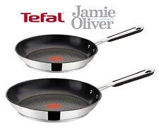 TEFAL Professional Bratpfanne 24cm + 28cm Jamie Oliver E79204 E79206 Neu Pfanne