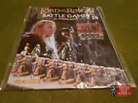 Magazine #28 Sealed Middle Earth Lord of the Rings Hobbit SBG GW Deagostini