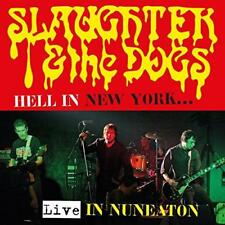 Slaughter And Dogs - Hell In New York - Live In Nuneaton (NEW CD+DVD)