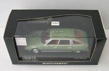 MINICHAMPS 1/43 : CITROEN CX PRESTIGE 1982 vert papyrus métallisé