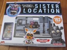 McFarlane 12826 Five Nights at Freddy's PRIVATE ROOM Sister Location 162 pcs NEW