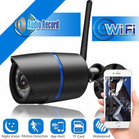 Security Wireless WIFI IP Audio Camera HD IR 1080P Outdoor APP TF Motion