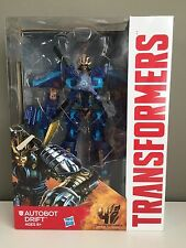 AUTOBOT DRIFT Voyager Class TRANSFORMERS Movie 4 AOE Age GENERATIONS Hasbro