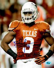 Jordan Hicks Autographed Signed 8x10 Photo Texas Longhorns Eagles (JSA PSA Pass)