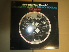 33RPM Columbia Kenny Clarke, Francy Boland, Shihab, Now Hear Our Meaning sharp E