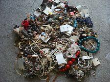 HUGE 9 KG Job Lot Costume Jewellery Necklaces Bracelets Earrings Rings mixed