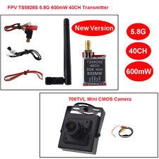 TS5828S 5.8Ghz 40CH 600MW FPV AV Wireless Transmitter+HD 700TVL CCTV FPV Camera