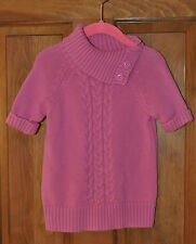Girls Pink Sweater by Gymboree *Size XS 3 - 4 *Great Condition *Cute Collar