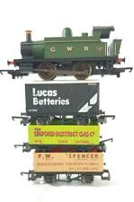 HORNBY R1138  - GWR GREAT WESTERN CLASS 101 HOLDEN TANK No.107 & LIMA WAGON SET