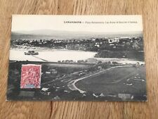 More details for madagascar french colonies 1908 tananarive stamps postcard ref 57356