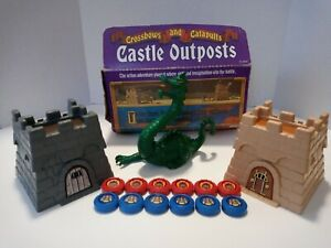 Crossbows and Catapults Dragon & Castle Outposts Set PLEASE READ