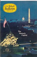 national geographic-SCHOOL BULLETIN-mar 29,1965-THE NATION'S CAPITAL.