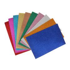10Sheets/Pack Scrapbooking Scrapbook Craft Glitter Foam Sheets for Children