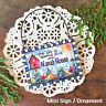 Nana 's House * DecoWords Wood Ornament Mini Sign Gift All relatives available