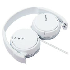 Refurbished Sony MDR-ZX110/W EX Monitor Headphones MDRZX110 White