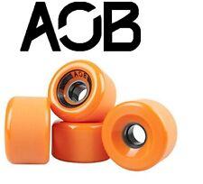 Aob Longboard Wheels (4 Stck) Offset 70x42 mm / 78a Orange