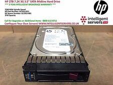 HP 2TB 7.2K 3G SATA Midline 3.5'' Hard Drive 611816-B21 / 611953-001