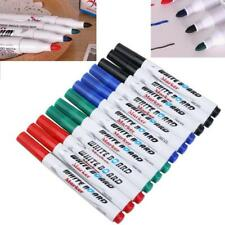 Dry Erase Whiteboard Markers Set Pen Black Marker Eraser Board Erasable Pens