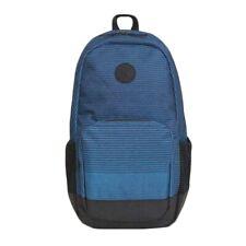 Hurley Renegade Backpack Travel Gym School Laptop Travel Bag -- Blue Black