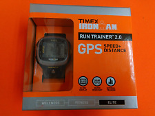 Timex IRONMAN Run Trainer 2.0 - T5K745 - GPS Speed Distance BRAND NEW