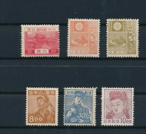 D194007(1) Japan Nice selection of MH stamps