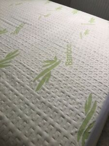 Bamboo Knitted Waterproof Mattress Protector/Pillow Protectors Available