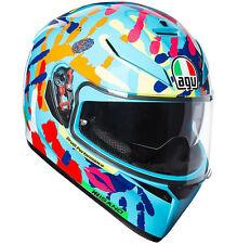 Agv K3 Sv Top Misano 2014 Rossi Casco TG XXL 63 64 Pinlock Da Moto