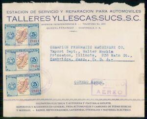 Mayfairstamps GUATEMALA AD 1948 COVER QUEZALTENANGO AUTO REPAIR SHOP wwi81697