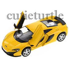 "RMZ City 5"" McLaren 650S Diecast Toy Car 555992 Yellow"